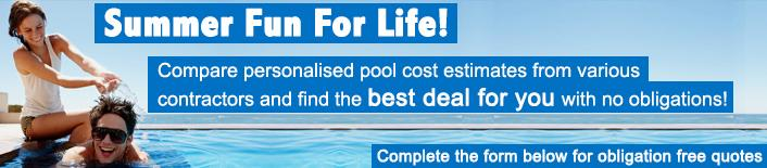 Aqua net swimming pool nets and covers for Pool builder quotes