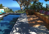 This is private Camps Bay Home, with automatic pool cover, gorgeous natural stone tiles and warm wooden elements; a suitable upgrade.