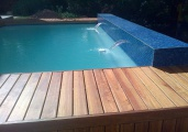Luxury Pool With Wooden Decking