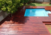 Pool Alteration After Decking