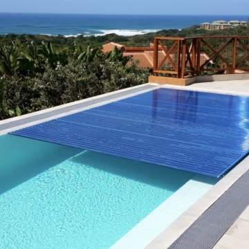 Designer Pool Covers: PoolDeck Slatted Automatic Cover