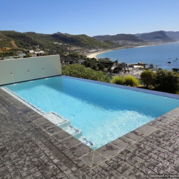 Radiant Pools Cape Town. Award winning pool.