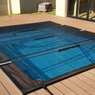 AllSeasons Pool Covers: PVC Mesh Leaf, Debris and Pet Safety Pool Cover